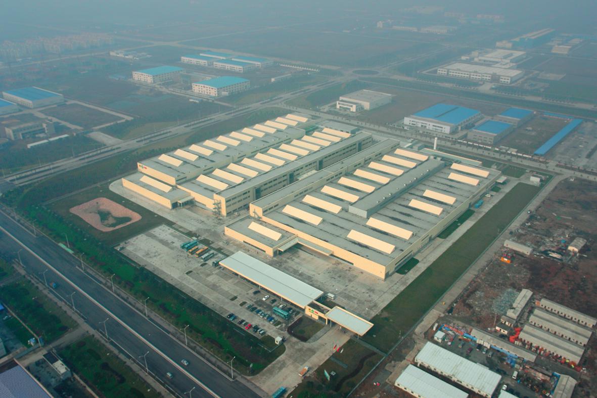 舍弗勒太仓新工厂