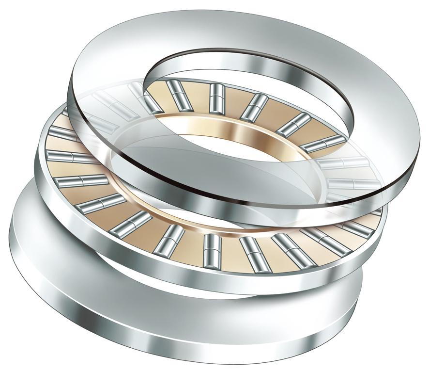 INA轴承|推力圆柱滚子轴承