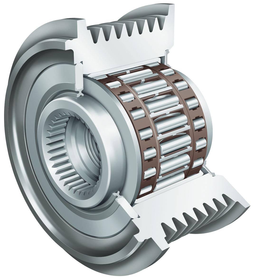 INA轴承|冲压外圈滚针离合器