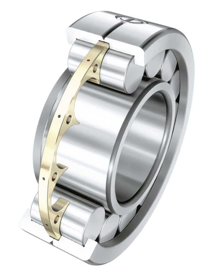 山东进口轴承|带圆盘式保持架的圆柱滚子轴承